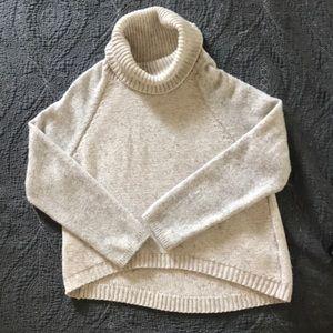 John + Jenn- cowl neck pullover Sweater-S/P